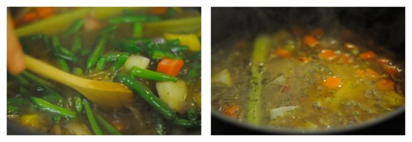 Boiling Veggies