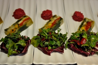 Beet and Vegetable Terrine